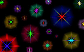 shining stars digital wallpaper hd