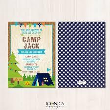 Invitaciones De Campamento Con Imagenes Invitaciones