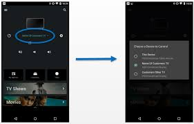 tablet to your vizio smartcast device