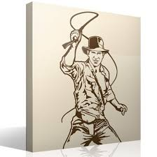 Wall Sticker Indiana Jones Muraldecal Com