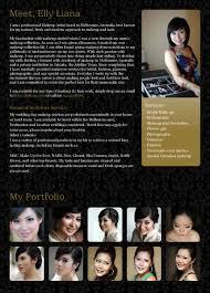 elly liana professional make up