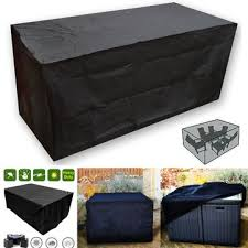 oxbridgeblack waterproof rattan cube