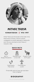 mother teresa quotes death saint biography