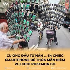 Weibo Việt Nam - CỤ ÔNG ĐẦU TƯ HẲN ... 64 CHIẾC SMARTPHONE ...