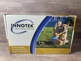 Innotek Rechargeable In Ground Pet Fencing System For Sale Online Ebay