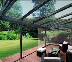 glass enclosed deck rooftop design