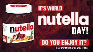 Poll: World Nutella Day