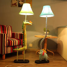 Animal Floor Lamps For Kids Room Novelty Rustic Children Kids Child Bedroom Cartoon Animal Cabtivist