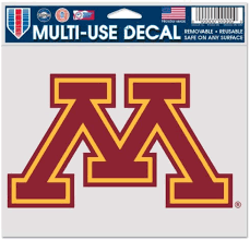 Amazon Com Wincraft Ncaa University Of Minnesota Multi Use Colored Decal 5 X 6 Automotive Decals Sports Outdoors