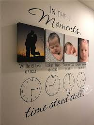 In These Moments Time Stood Still Personalized Wall Decal Etsy Family Wall Decals Wall Stickers Family Wall Decal Clock