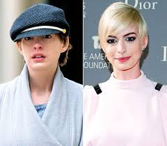 anne hathaway without makeup plato post