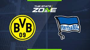 2019-20 Bundesliga – Borussia Dortmund vs Hertha Preview ...