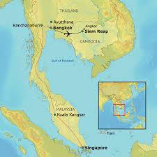 singapore thailand angkor wat