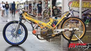 drag bike bebek 130 4t tu ivan bangun