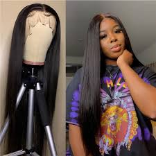 full lace human hair wigs straight