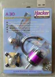 hacker a30 12m brushless outrunner new