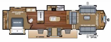 popular fifth wheel floor plans camping