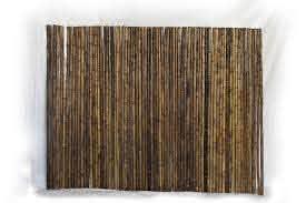 Dark Brown Bamboo Fence Bamboo Toronto Store