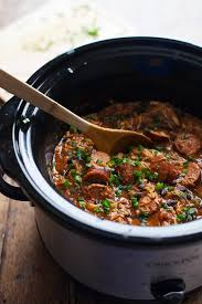 slow cooker creole en and sausage