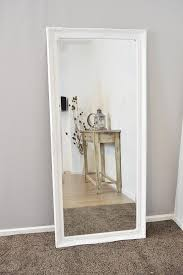mirror wall white wall mirrors