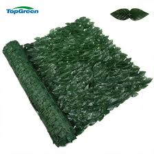 China Greenery Artificial Plastic Ivy Leaves Privacy Fence Screen For Privacy Safety China Garden Leaf Fence Artificial Ivy Fence
