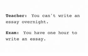can t write essays 24 7 college