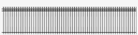 Metal Fence Png Fence Png Transparent Png 962x200 Free Download On Nicepng