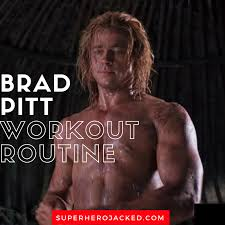 brad pitt workout routine and t plan