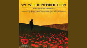 we will remember them words music for remembrance day