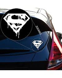 Yoonek Graphics Superman S Death In Vinyl Decal Sticker 527 4 X 4 3 White On Ranker Shop