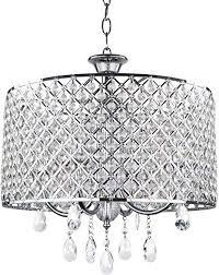 4 light modern chic crystal chandelier