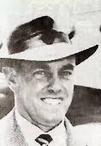 Ian Johnson with the Australian cricket team in England in 1948 ...