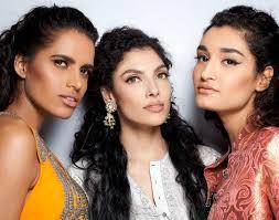 m a c cosmetics at delhi couture week