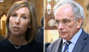 BBC news: Peter Bone clashes with BBC reporter on no deal vote ...