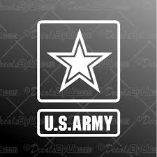 Us Army Decal Us Army Car Sticker Low Prices