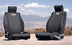 jeep wrangler front seat covers mopar
