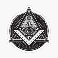 Illuminati Stickers Redbubble