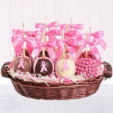 apple t cancer awareness gift basket