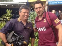 WIN TV cameraman proves covering the news a tough job | Morning Bulletin