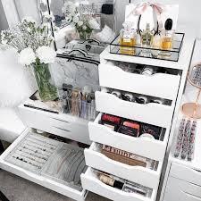 makeup organizer storage ideas