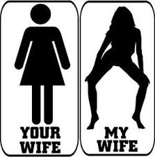 My Wife Your Wife Funny Sexy Adult Hoon Car Decal Sticker Ebay