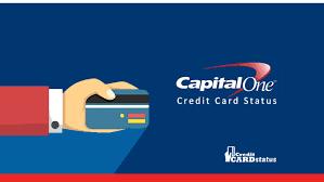 capital one credit card status