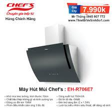 Máy Hút Mùi Chefs EH-R706E7 | Tổng Kho Bếp Nhập Khẩu Chính Hãng