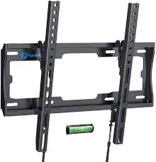 Amazon.com: Tilt TV Wall Mount Bracket Low Profile for Most 26-55 Inch LED  LCD OLED Plasma Flat Curved Screen TVs, 8 Degrees Tilting for Anti-Glaring,  Max VESA 400x400mm and Holds up to