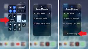 how to use airplay to stream content to