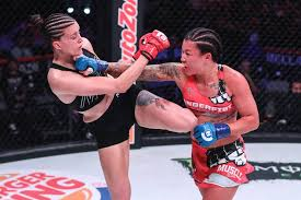 Arlene Blencowe defeats Amber Leibrock at Bellator 206 in San Jose | Port  Macquarie News | Port Macquarie, NSW