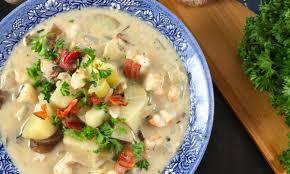 Shrimp Chowder (New England Style ...