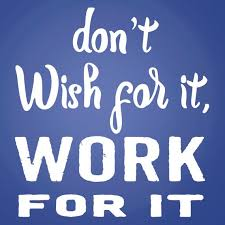 Workout Decal Don T Wish For It Work For It Vinyl Etsy