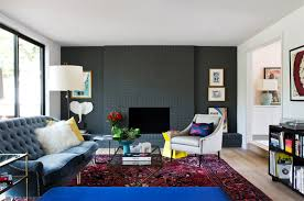 20 painted brick fireplaces in the