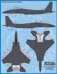 F 15c E Heritage Eagles Furball Aero Design Decals 1 48 Scale